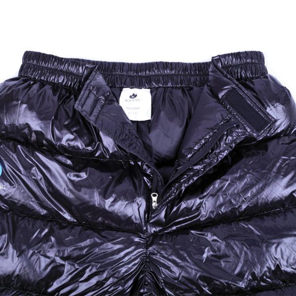 Black Crag goose down pants open crotch