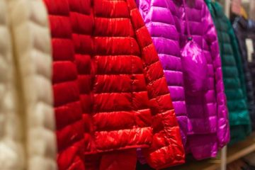 Nylon fabric explanations sleeping bags and jackets